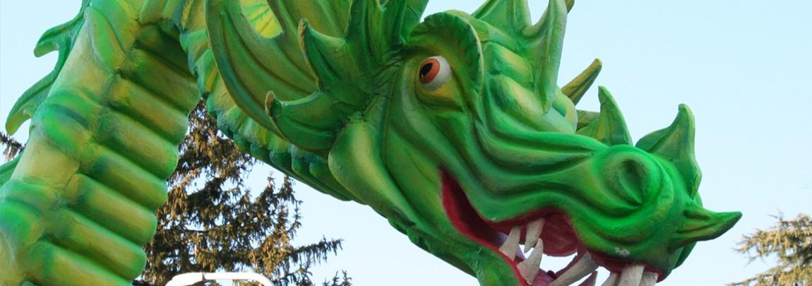 Carnevale Nepesino - Festa A Nepi Con Focarone E Carri Allegorici