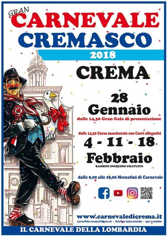 Carnevale Cremasco 2018