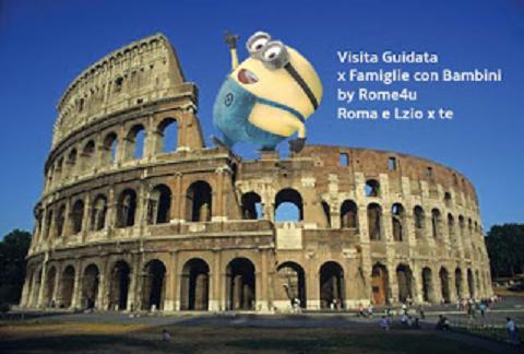 Colosseo e Foro Romano con i bambini
