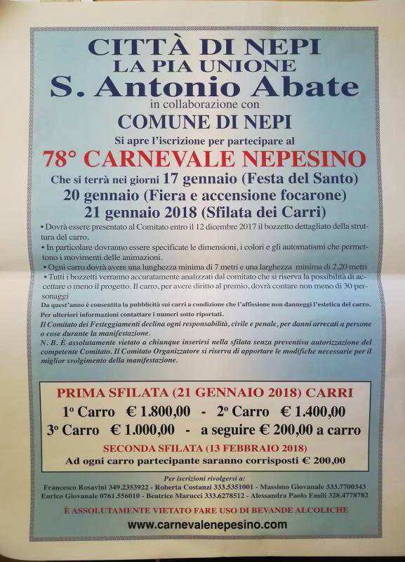 Festa Di Sant' Antonio Abate con Focarone
