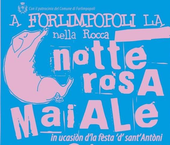 Notte Rosa Maiale