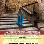"""Castello di Bracciano: """"il Re del lago e la Principessa Artemisia"""""""