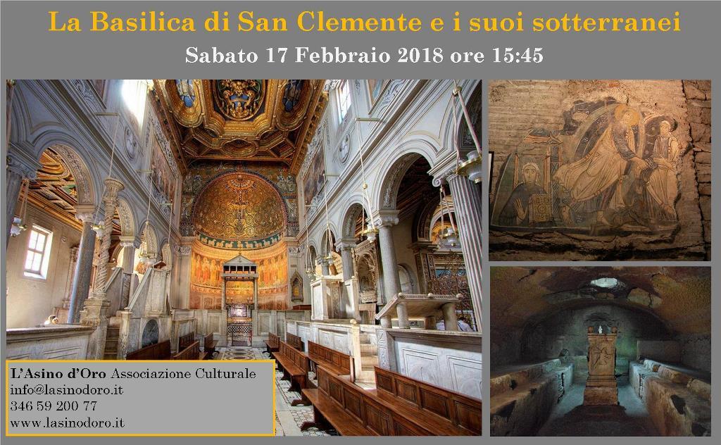 Roma sotterranea. La basilica di San Clemente