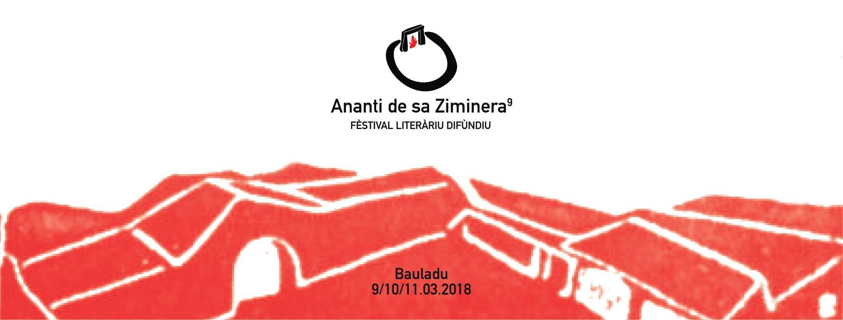 Ananti de sa Ziminera - IX ediz. Festival Literariu Difùndiu