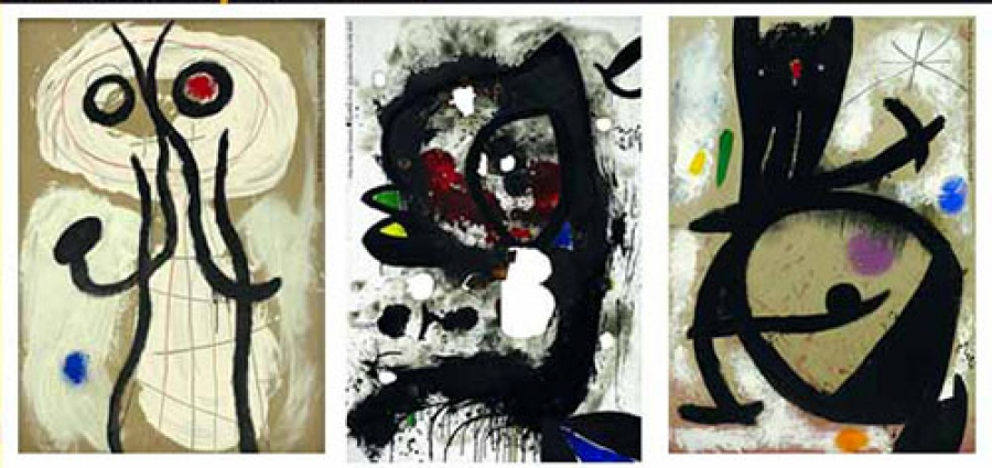 Joan Miró: Materialità e Metamorfosi