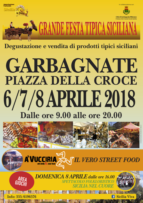 Sicilia Viva in Festa a Garbagnate