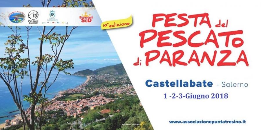 10° ediz. della Festa del Pescato di Paranza - Castellabate 2018