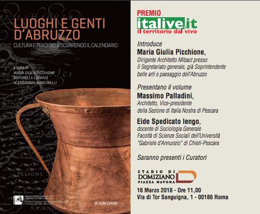 Luoghi e Genti d'Abruzzo: cultura e tradizioni scorrendo il calendario
