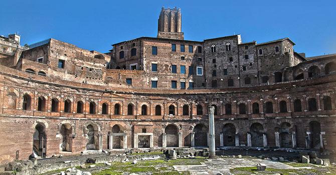 Traiano aveva un banco al mercato? - Visita guidata per bambini dei Mercati, Foro e Colonna di Traiano