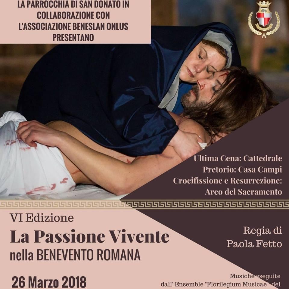 Passione Vivente nella Benevento Romana