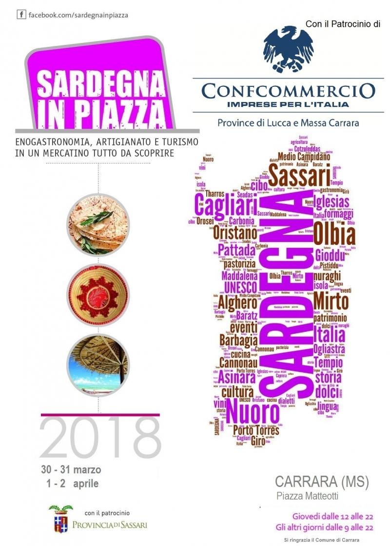 Sardegna in Piazza a Carrara 2018