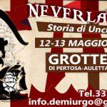 Neverland, la storia di capitan Uncino alle grotte di Pertosa