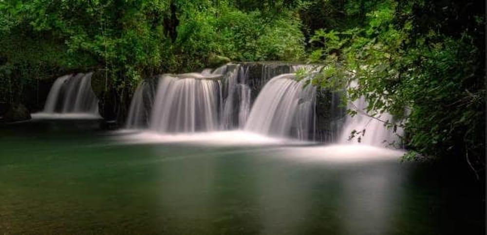 Poesie di primavera alla cascate del Monte Gelato