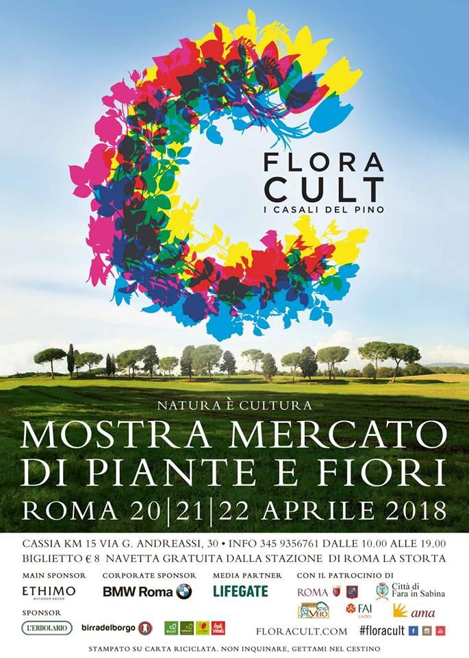 FLORACULT- Mostra mercato di florovivaismo amatoriale