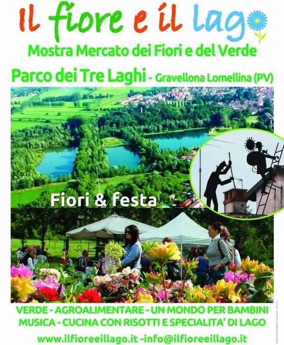 Il Fiore e il Lago - Mostra Mercato dei fiori e del verde al Parco dei Tre Laghi