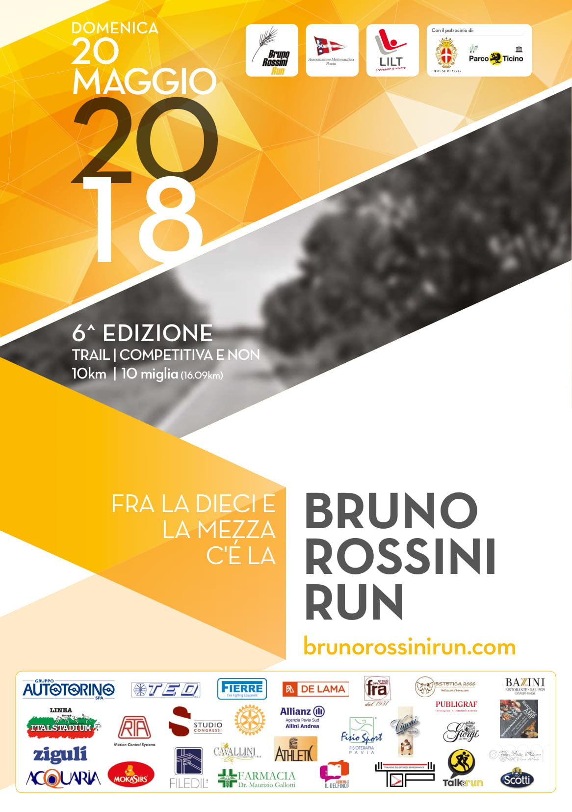 Bruno Rossini Run 2018 - 6° edizione