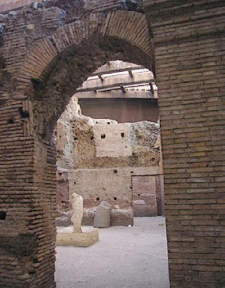 Lo stadio di Domiziano nei sotterranei di Piazza Navona