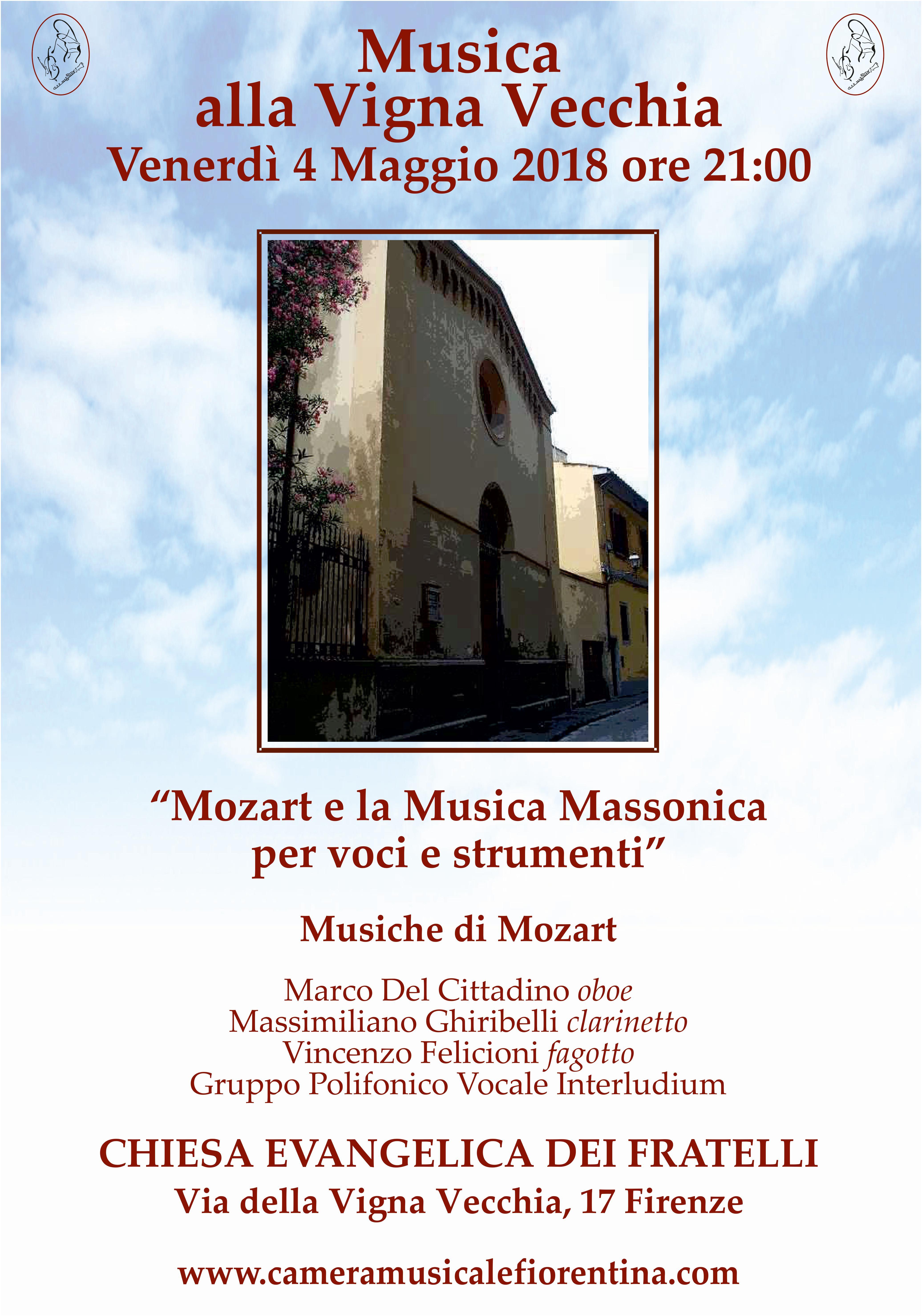Stagione concertistica 2018 - Camera Musicale Fiorentina