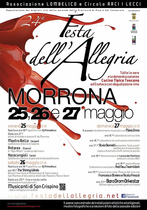 4° Festa dell'Allegria di Morrona