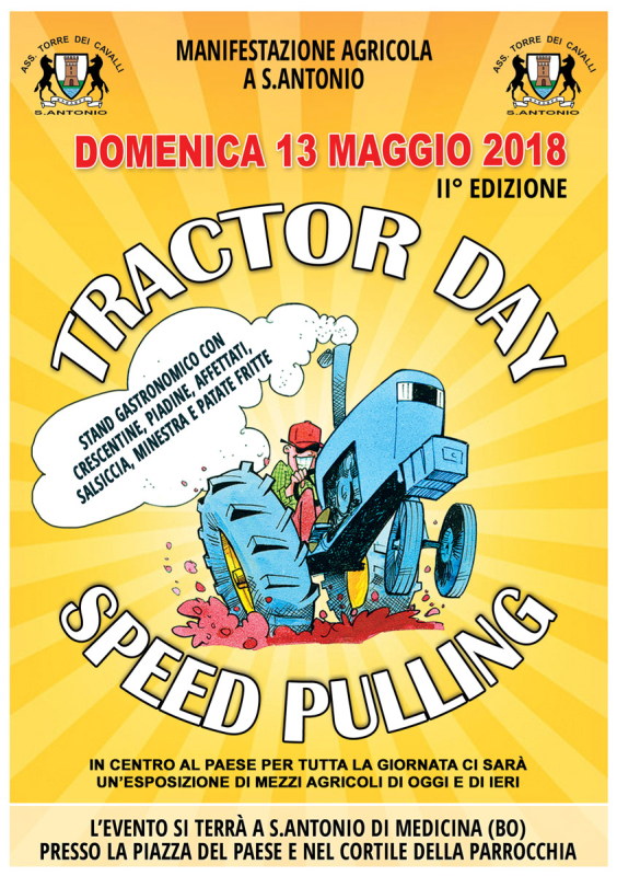 Tractor Day – Speed Pulling