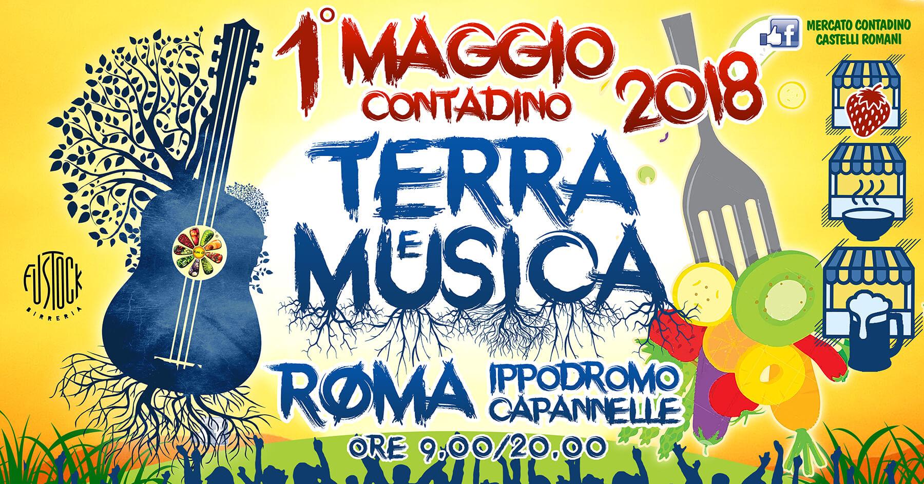 TERRA e MUSICA  - Festa del 1° maggio contadino