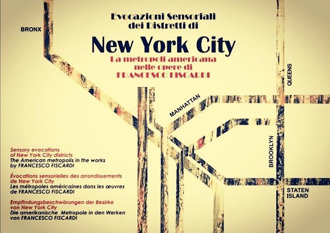 Evocazioni sensoriali dei distretti di New York City