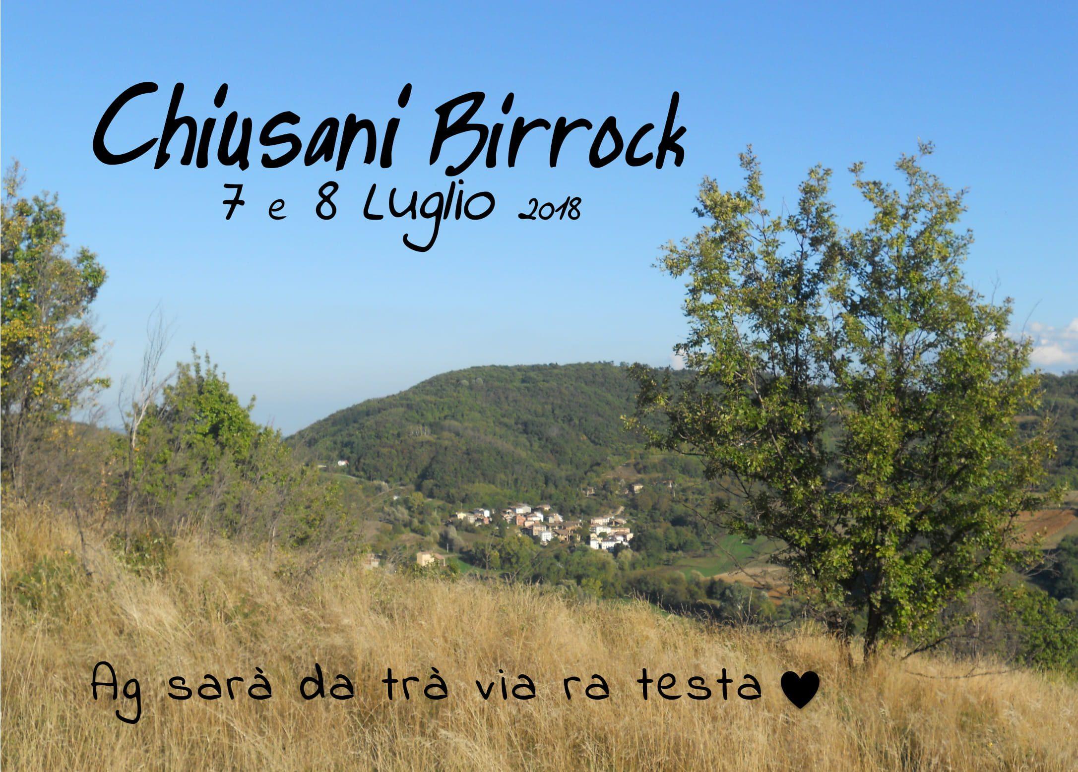 Chiusani Birrock- L'AgriFesta della Birra dell'Oltrepò Pavese