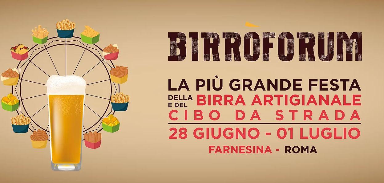 Birròforum - Festival della Birra Artigianale e del Cibo da Strada