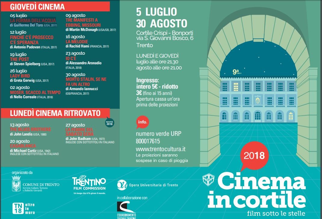 Cinema in cortile - Film sotto le stelle