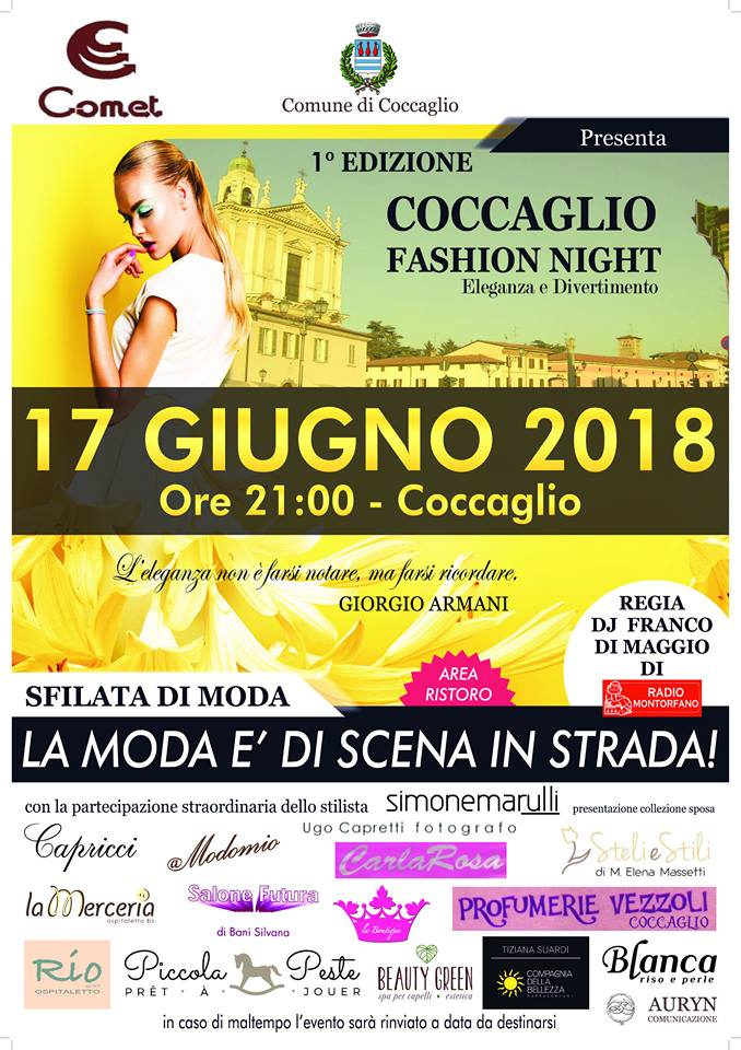Coccaglio Fashion Night