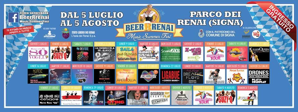 5° ediz. Beerrenai - Music Summer Fest