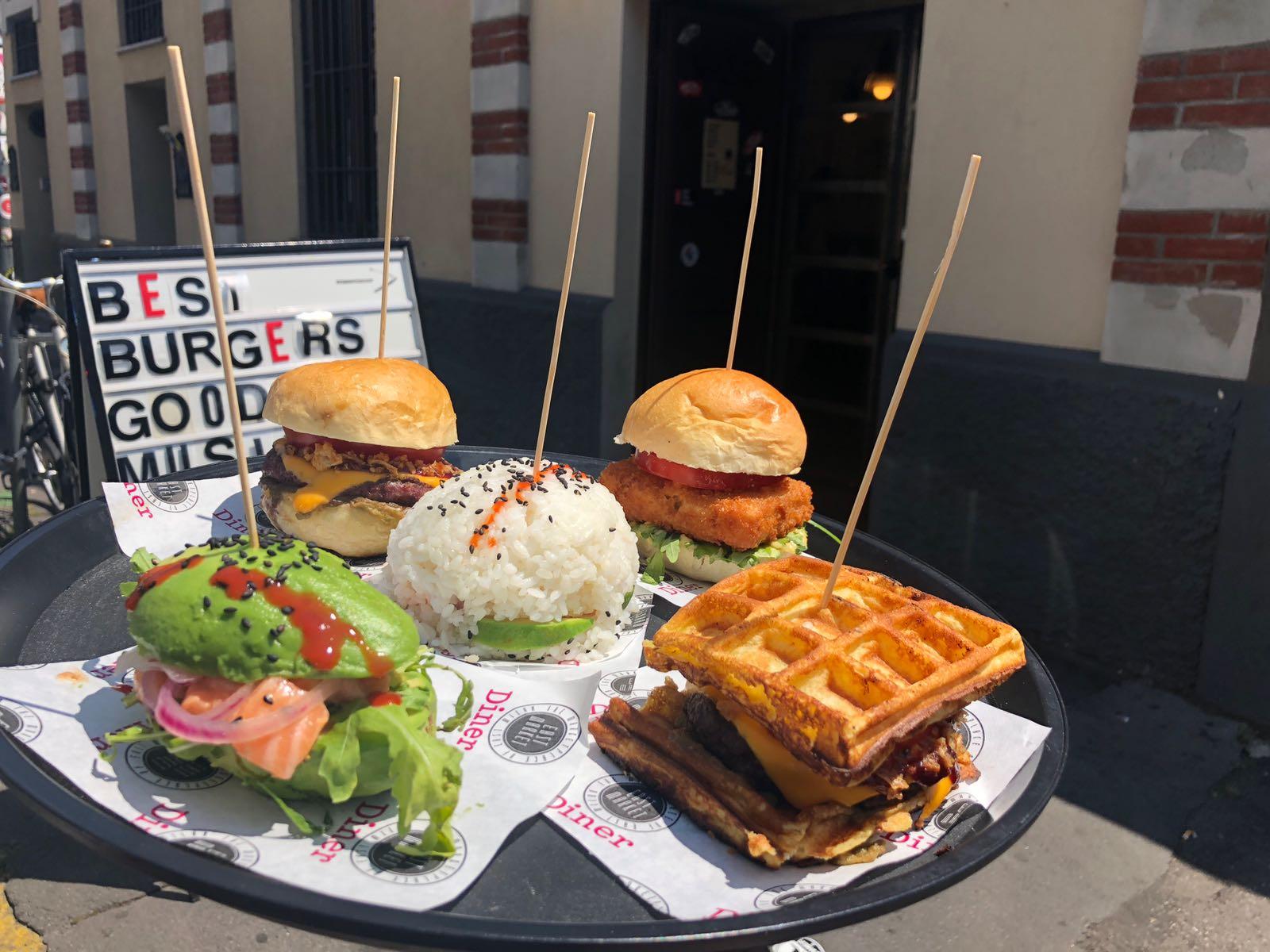 """East Market Diner - """"5 Burgers"""""""