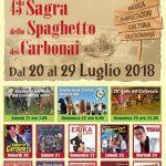 42° Sagra dello spaghetto dei carbonai