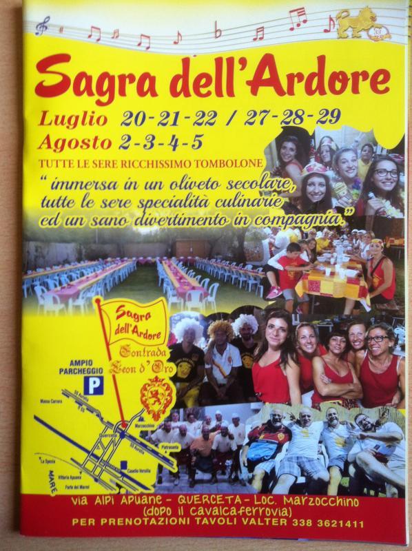 Sagra Dell'ardore - Contrada Leon D'oro