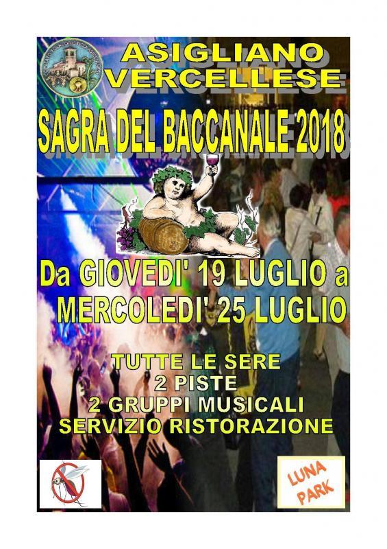 La Sagra del Baccanale a Asigliano Vercellese