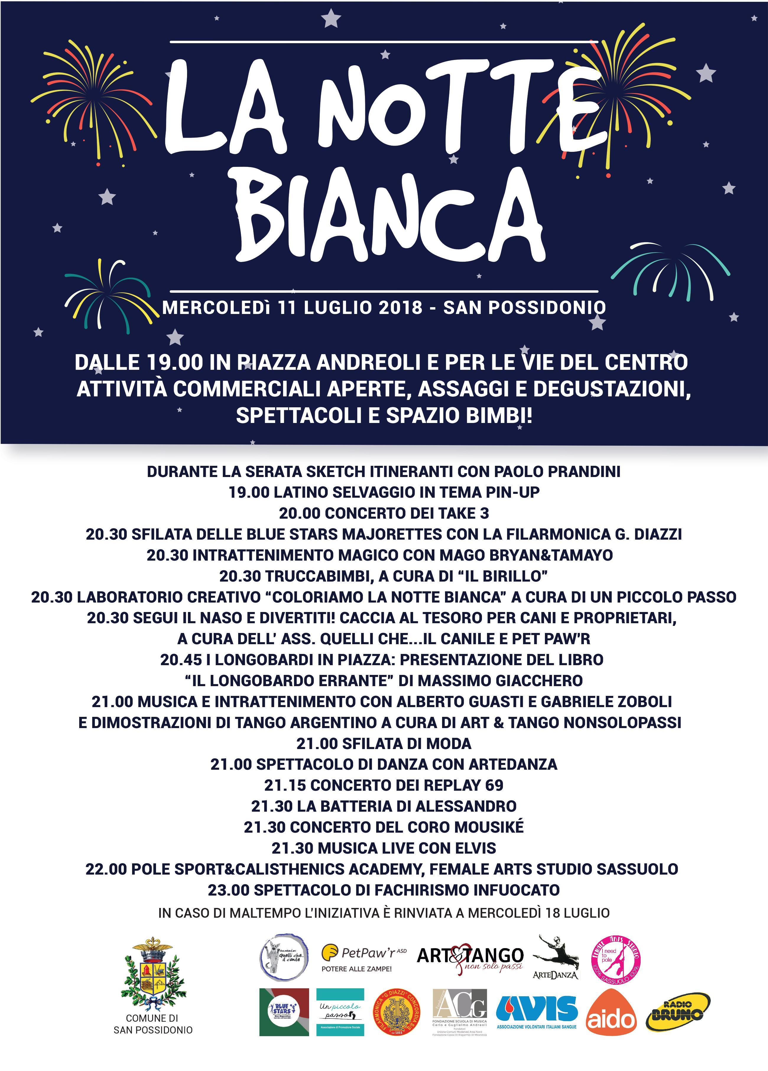 Notte Bianca a San Possidonio