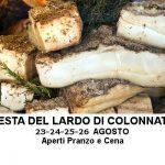 6° Festa del Lardo di Colonnata