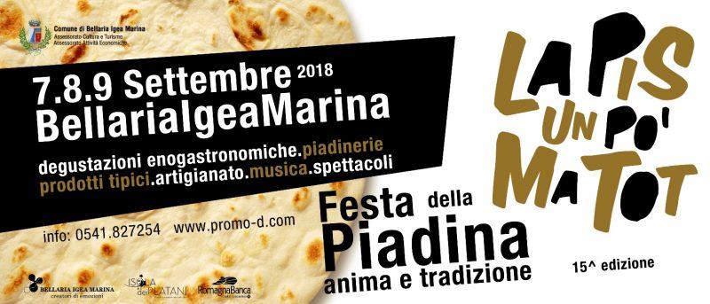 15° Festa della Piadina - La Pis un Pó ma Tot!