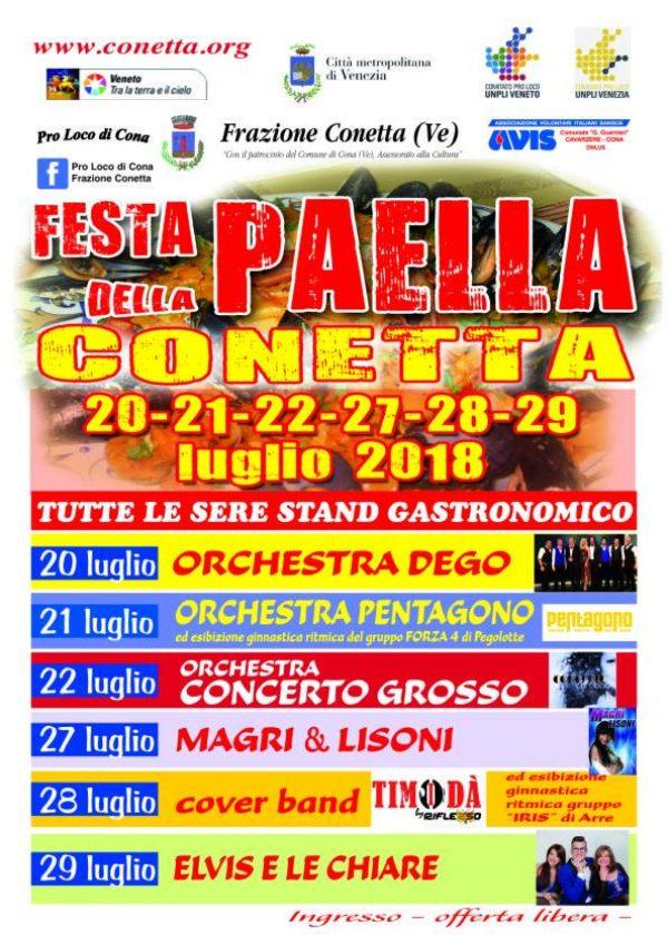 Festa della Paella di Conetta 2018