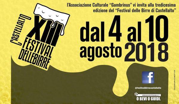 13° Festival delle Birre Artigianali di Castellalto