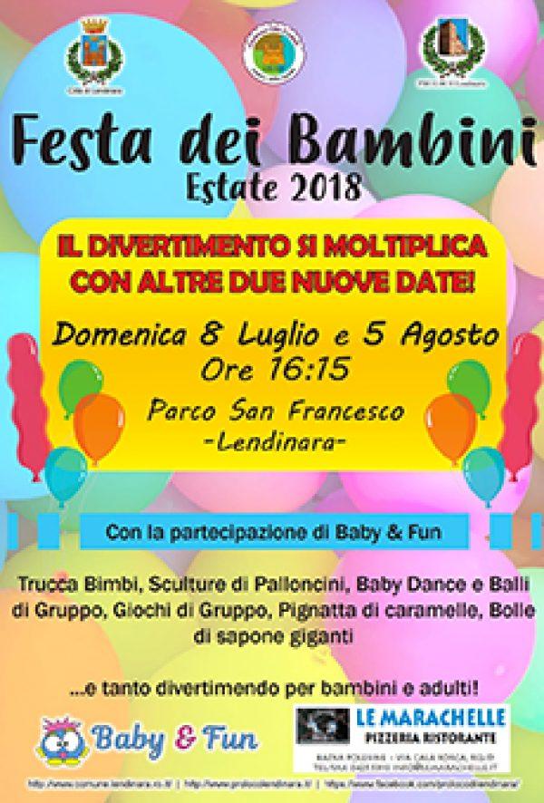 Festa dei bambini a Lendinara