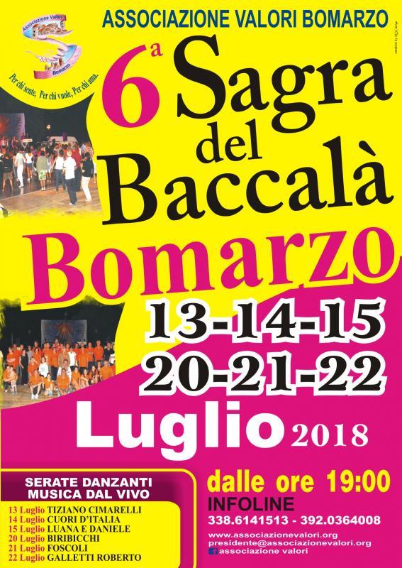 La Sagra del Baccalà a Bomarzo